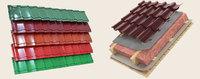 Металлочерепица (монтерей) глянец полиэстер толщина - 0.5мм, купить, заказать, Херсон, низкая цена, недорого, магазин, интернет-магазин