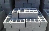 Шлакоблок (блок стеновой бетонный) 39.5*19*19